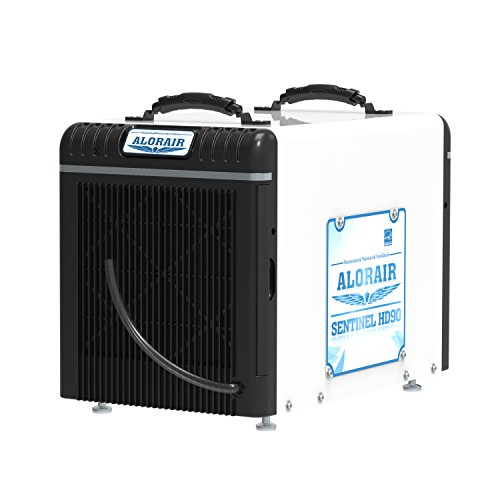 Crawlspace Dehumidifiers 90 Pints Per Day - Large Capacity and Portable Electric Home Basement Dehumidifier – Stackable For Spaces Up to 2600 sq.ft by AlorAir