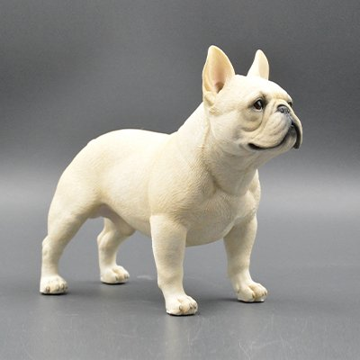 Lovely Amazon.com: French Bulldog Sculpture | Hand-made and painted | Pet  DR55