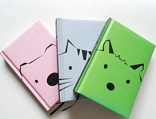HeyBro - Cuaderno de dibujos animados para gatos, cuaderno ...