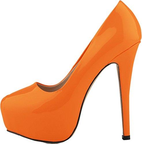 Donna Find Nice Plateau Con Orange FwtrxqpwO