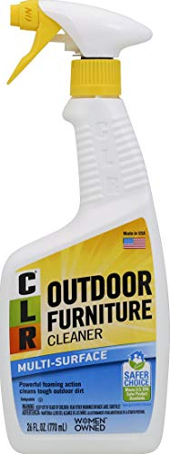 CLR Outdoor Furniture Cleaner, Spray Bottle, 26 Ounce (Furniture Patio Cleaner Resin)
