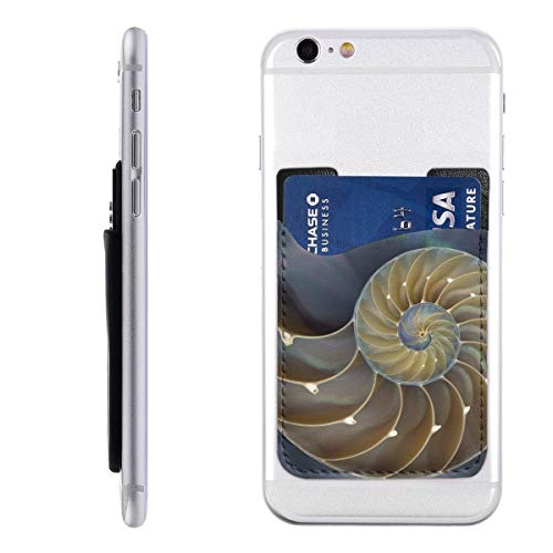 Amazing Chambered Nautilus Painting Mobile Phone Card Package Applicable to iPhone, Android and All Smartphones 2.43.5 in