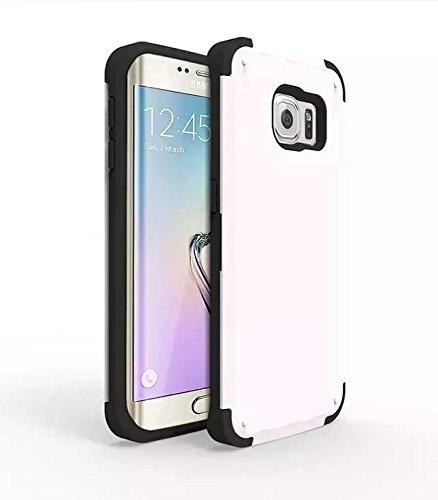 inShang Samsung Galaxy S6 Coque Housse structure double forte Résistance à l'impact avec Silicon Gel cadre + PC coque rigide, avec trois fonctions: la protection Coque arrière (back case) + slot pour cart