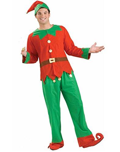 Forum Novelties Women's Simply Elf Costume, Multi, One Size (Costumes Elf Christmas)