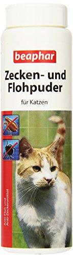 Beaphar 79217 Zecken und Flohpuder für Katzen, 100 g