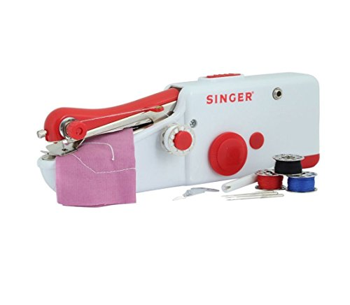 Nut Shop Quick Handy Held Sewing Machine Cordless Repair Singer Portable Stitch Sew Hand by ์Nut Shop