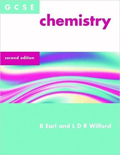Book GCSE Chemistry by B. Earl (2001-11-30)
