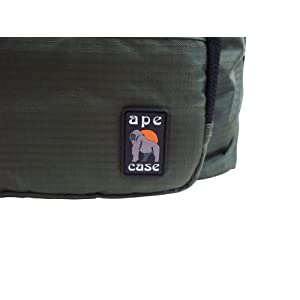 Ape case messenger bag camera case high visibility interior Green (AC520G)