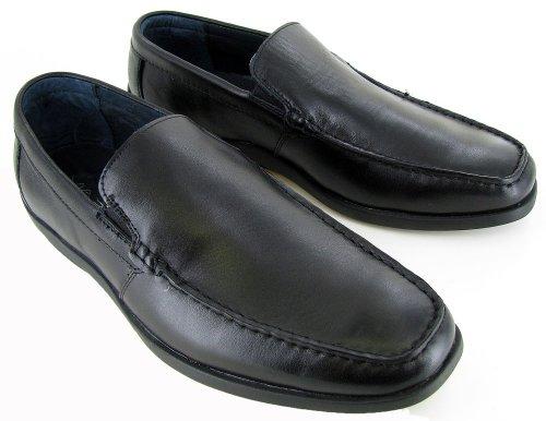 Via Spiga Men's Ancona Loafer,Black,7 M (Ancona Leather)