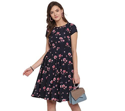 LookMark Crepe a-line Womens Dress