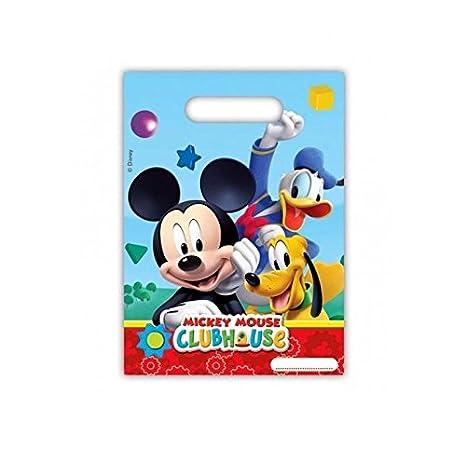 Lot 6 bolsita Surprise Mickey Mouse - Bolsa regalo caramelos ...