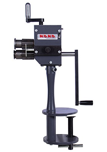 KAKA Industrial RM-B Sheet Metal Bead Roller, 4-Inch Depth Sheet Metal Roller, 20 Gauge Rotary Tool, Easy Operation and Light Weight Sheet Metal Rotary Crimper Machine