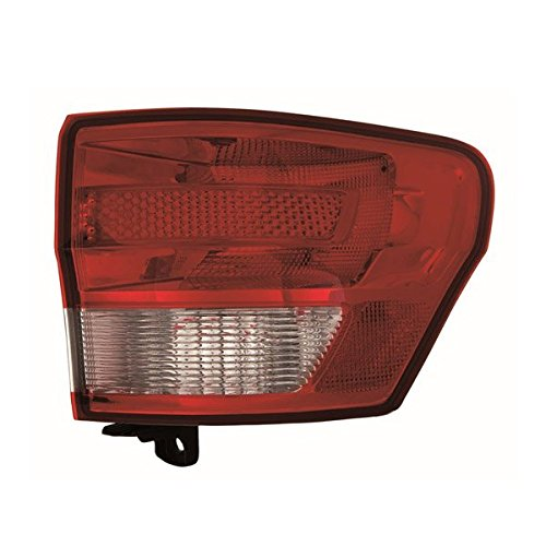 2011-2012-2013 Jeep Grand Cherokee Taillamp Taillight Rear Brake Tail Light Lamp (Quarter Panel Outer Body Mounted) Right Passenger Side (11 12 13)