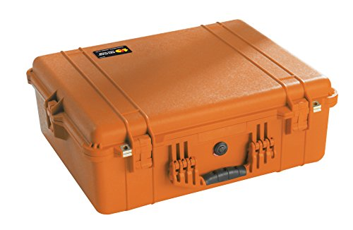 Pelican 1600 Camera Case With Foam (Orange) by Pelican
