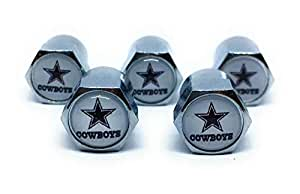 Amazon Com Buycleverly Dallas Cowboys Metal Tire Valve