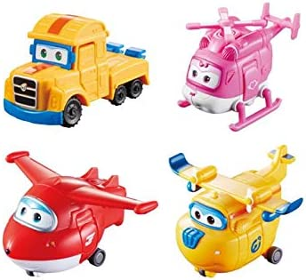 Toy Play Easily For Use With 2 Figures Super Wings Transforming Vehicle Jett