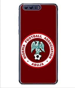 ColorKing Football Nigeria 04 Red shell case cover for Huawei P10