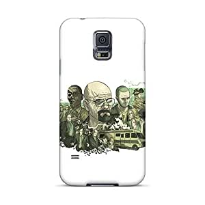 Casesbest88 Samsung Galaxy S5 Scratch Resistant Cell-phone Hard Cover Support Personal Customs Stylish Breaking Bad Centered Skin [OuH1788bicU]