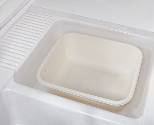Rubbermaid 11.4 QT Dish Pan, Bisque (2951)