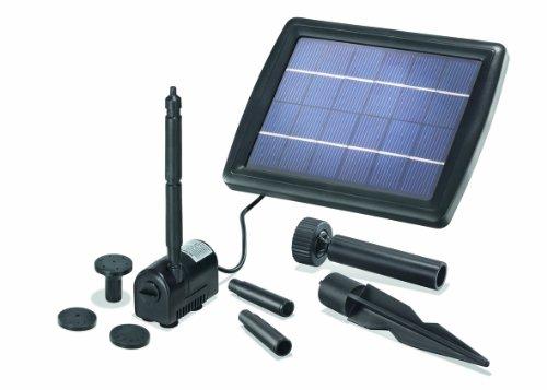 Solar-Teichpumpe-2-Watt-Solarmodul-175-lh-Frderleistung-70-cm-Frderhhe-Komplettset-Gartenteich-101010