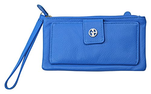 giani-bernini-genuine-leather-grab-n-go-wristlet-purse-wallet-french-blue