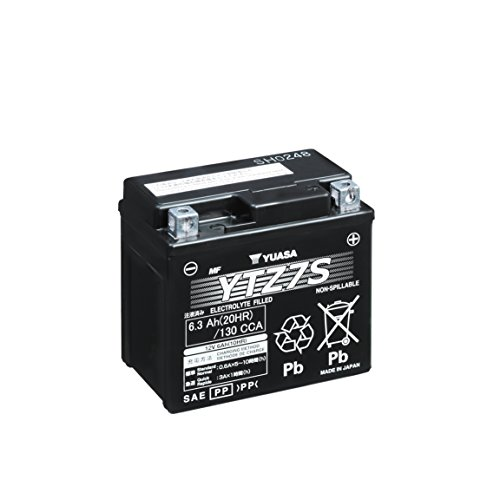 Motorcycle Parts Performance Eastern - Yuasa YUAM727ZS Lead_Acid_Battery
