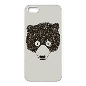 iPhone 5 5s Cell Phone Case White Stare Bear KYS1102120KSL
