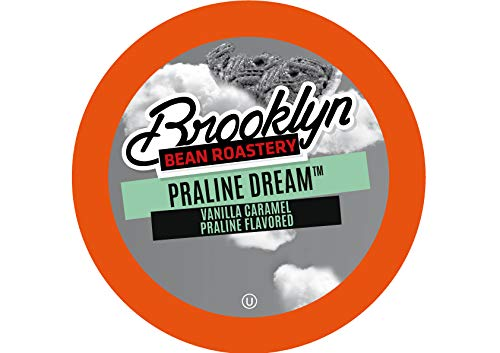 Brooklyn Beans Praline Dream Coffee Pods for Keurig K Cups Coffee Maker, 40 Count
