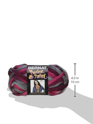 Amazon Bernat Twist N Twirl Yarn Misty Merlot