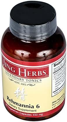 Jing Herbs Rehmannia 6 90 Capsules