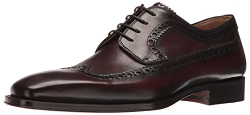 Magnanni Men's Vandar Oxford, Mid Brown, 8 M US