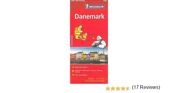 Mapa National DINAMARCA (Mapas National Michelin): Amazon.es ...