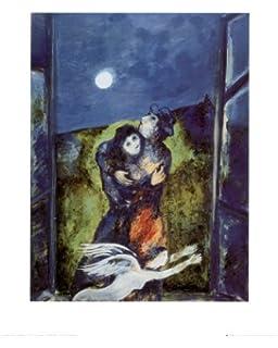 La Mariee Art Poster Print by Marc Chagall, 61x82: Amazon.co.uk ...