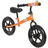 Vilano No Pedal Push Balance Bicycle for Children, Orange