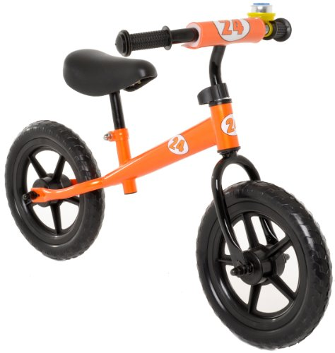 Vilano No Pedal Push Balance Bicycle for Children Orange