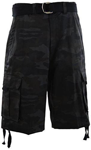 64fa700ed0 Jual ChoiceApparel Mens Cargo Shorts with Belt - Cargo   Weshop ...