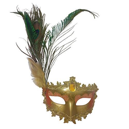Women's Halloween Costume Venetian Masquerade Carnival Mask Mardi