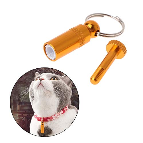 Affordableshop Pet Cat Collar Pet Personalized Anti Lost Metal Identification Name Address Phone Label Dogs Puppy Kitten Id Tag