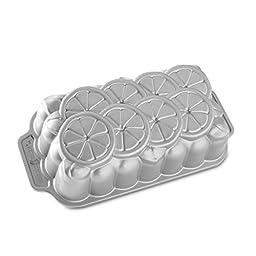 Nordic Ware Citrus Loaf Pan, Metallic