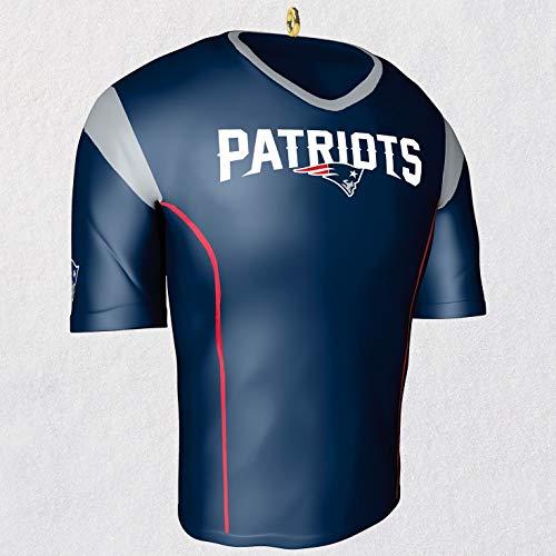 Hallmark New England Patriots Jersey Ornament Sports & Activities,City & State ()
