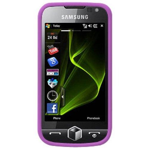 - Amzer Silicone Skin Jelly Case for Samsung Omnia 2 i8000 - Purple