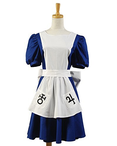 Madness Returns Costumes (Sidnor McGee's Alice Madness Returns Cosplay Costume Classic Alice Maid Dress Apron)