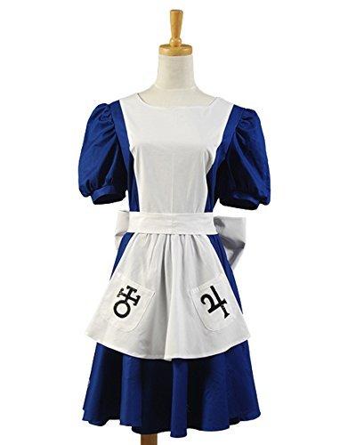 84a4c9554df6a Amazon.com: SIDNOR Alice Madness Returns Cosplay Costume Classic ...