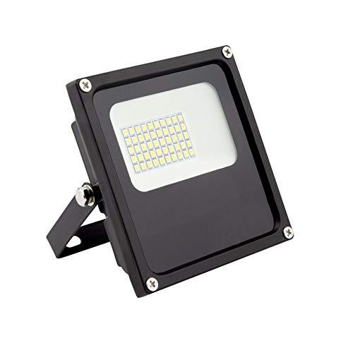 Foco Proyector LED SMD Slim 20W 120lm/W Blanco Neutro 4000k-4500K ...