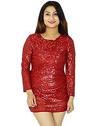 Women Fashion Party Wear Dress Long Sleeve Casual New Evening Short Dress