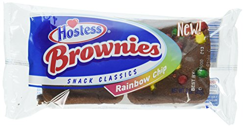Hostess Brownies Rainbow Chip, 2 Count (Pack of 48) by Hostess