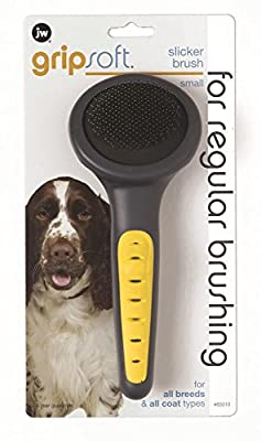 JW Pet Gripsoft Dog Slicker Brush from DOSKOCIL MANUFACTURING CO.,INC