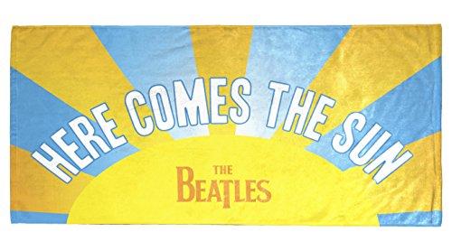 "Bravado Beatles Here Comes The Sun 28"" x 58"" 100% Cotton Bea"