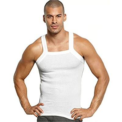 New John Son Super Heavy Weight Square Cut Tank Top hot sale