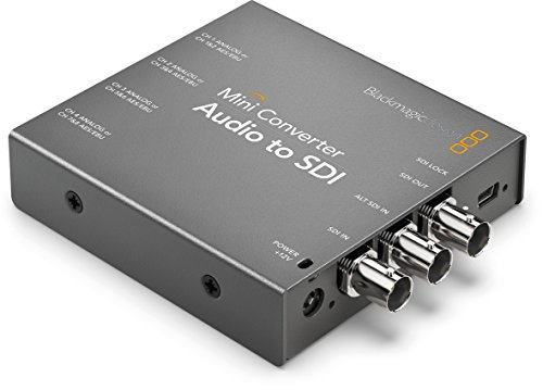 Blackmagic Design Mini Converter Audio to SDI CONVMCAUDS